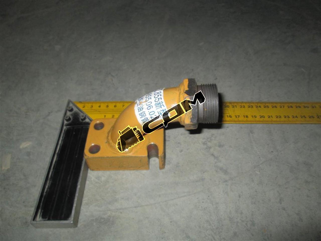 Трубка подачи масла насоса управления CDM855  LG855.06.02