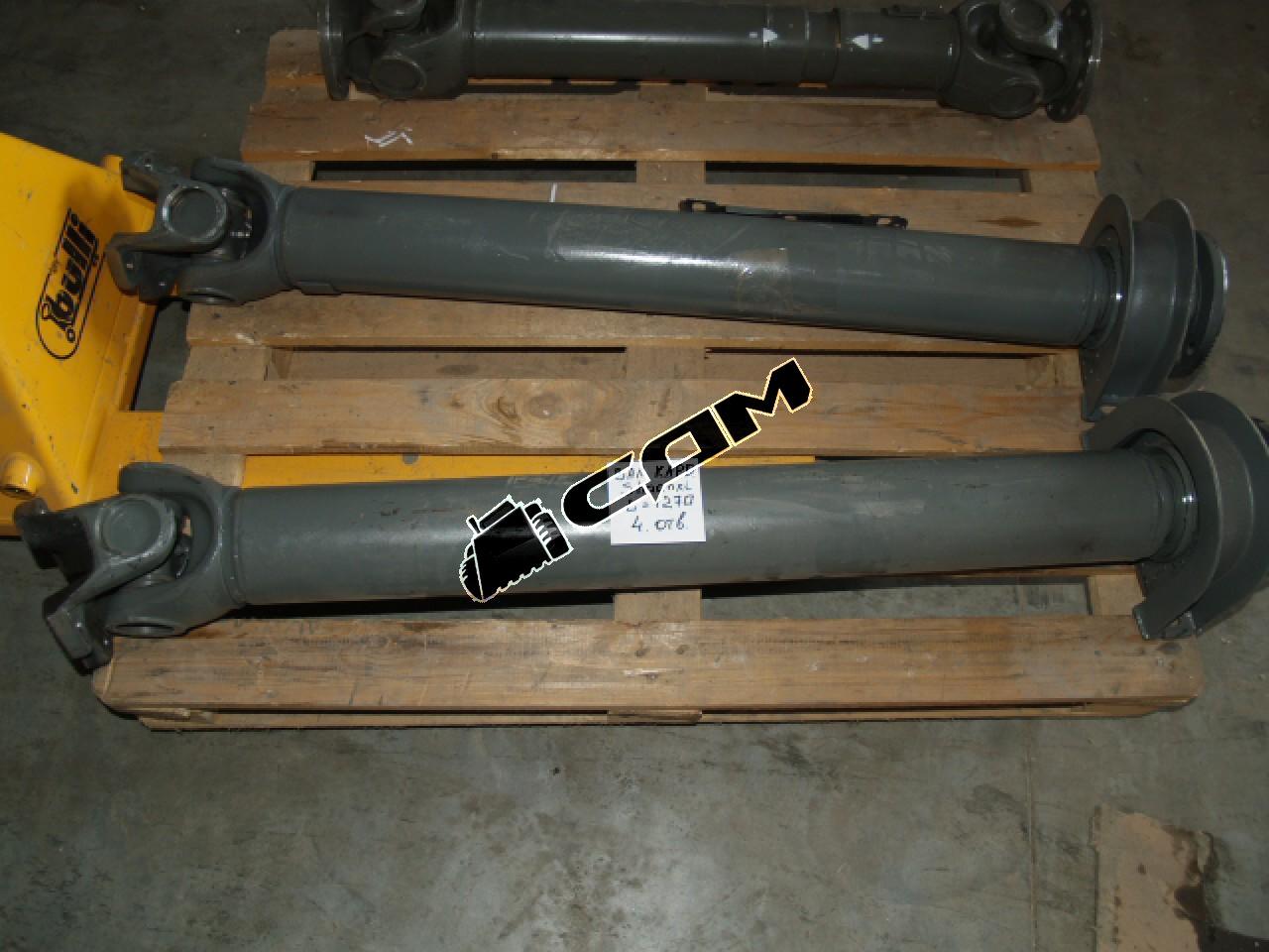 Вал карданный среднего моста HOWO 8*4 L=1280 мм